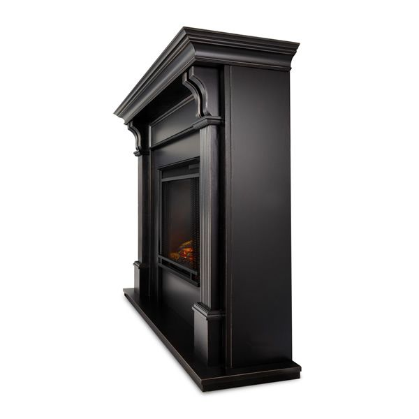 Real Flame Ashley Wash Electric Fireplace - Black image number 3