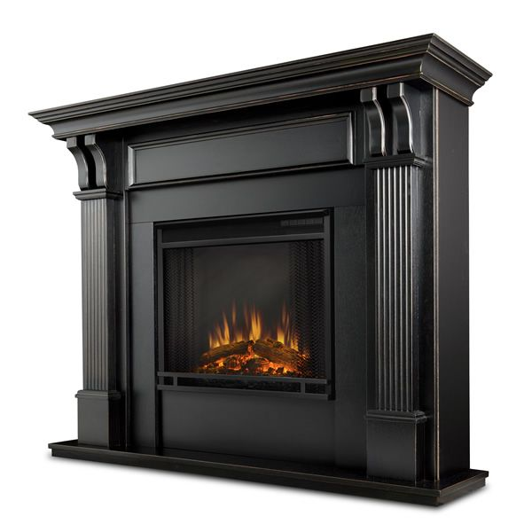 Real Flame Ashley Wash Electric Fireplace - Black image number 0