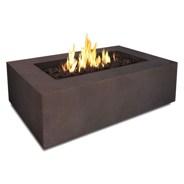 Real Flame Baltic Rectangle Fire Table - Kodiak Brown image number 1