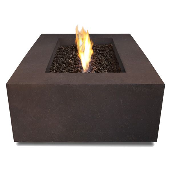 Real Flame Baltic Rectangle Fire Table - Kodiak Brown image number 2