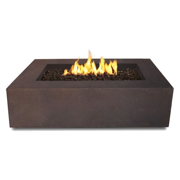 Real Flame Baltic Rectangle Fire Table - Kodiak Brown image number 3