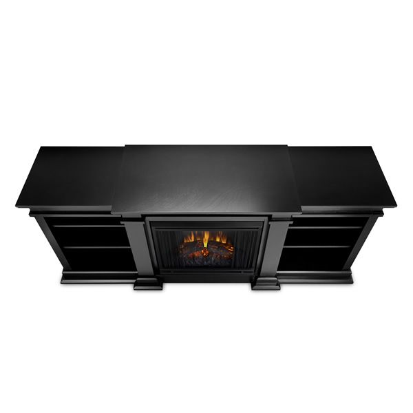Real Flame Fresno Entertainment Electric Fireplace - Black image number 2
