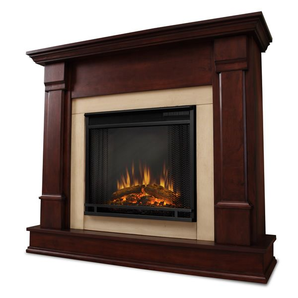 Real Flame Silverton Electric Fireplace - Mahogany image number 0