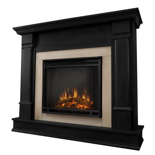 Real Flame Silverton Electric Fireplace - Black image number 0