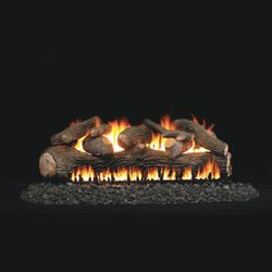 Real Fyre Mammoth Pine See Through Vented Gas Log Set