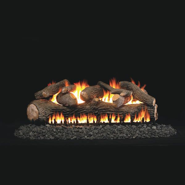 Real Fyre Mammoth Pine See Through Vented Gas Log Set image number 0
