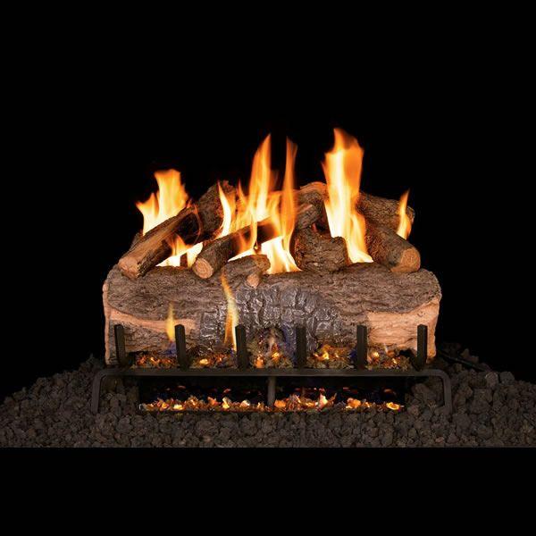 Real Fyre Mountain Crest Oak Vented Gas Log Set image number 0