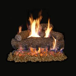 Real Fyre Canyon Oak Vented Gas Log Set