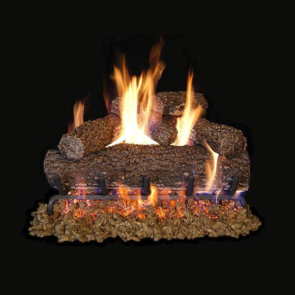 Real Fyre Canyon Oak Vented Gas Log Set image number 0