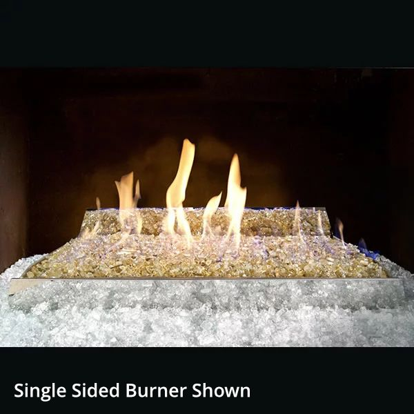 Real Fyre Contemporary See Through Ventless Fire Glass Set image number 0