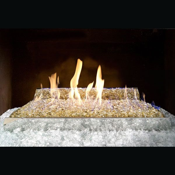 Real Fyre Contemporary Ventless Fire Glass Set image number 0