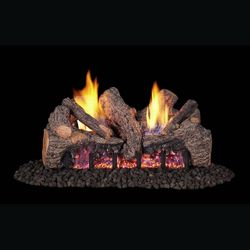 Real Fyre Evening Fyre Split ST Ventless Gas Log Set