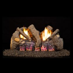 Real Fyre Foothill Oak Ventless Gas Log Set