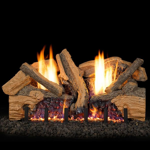 Real Fyre Foothill Split Oak Ventless Gas Log Set image number 0