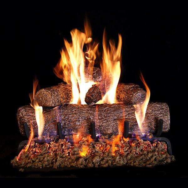 Real Fyre Live Oak Vented Gas Log Set image number 0