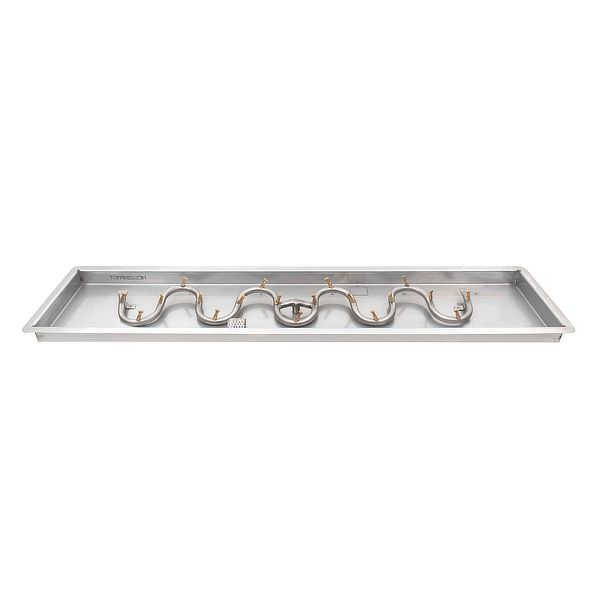 Switchback Stainless Steel Bullet Burner with Drop-In Pan image number 0