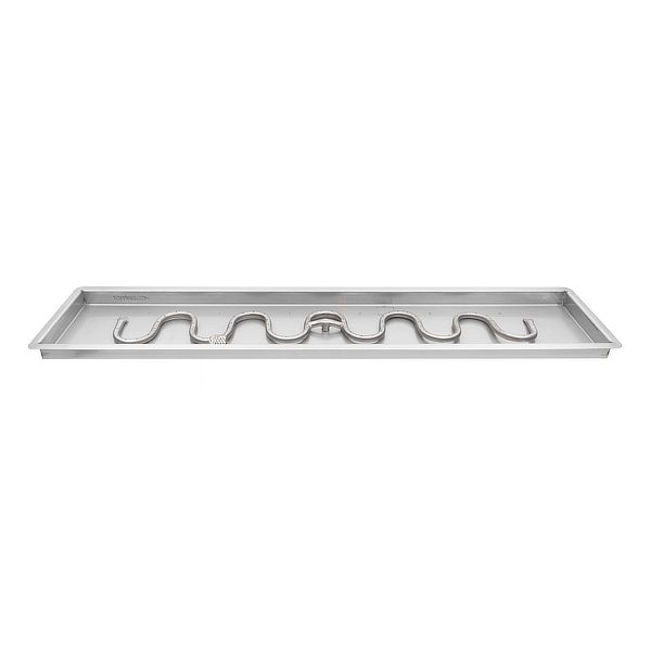 Switchback Stainless Steel Burner with Drop-In Pan image number 0