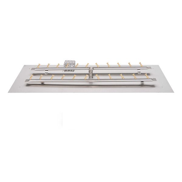 Stainless Steel H-Bullet Burner with Flat Pan image number 0