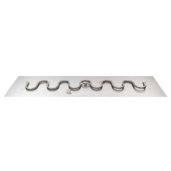 Switchback Stainless Steel Burner with Flat Pan image number 0