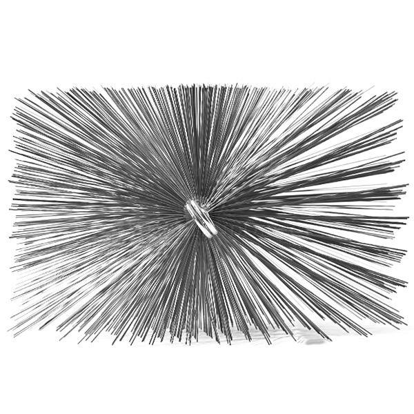 A.W. Perkins Rectangular Chimney Brush image number 0