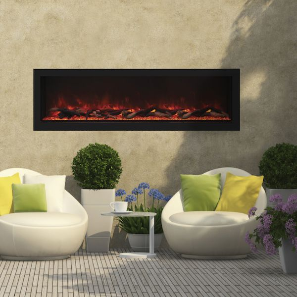 Amantii Remii Deep Indoor/Outdoor Built-In Electric Fireplace image number 3