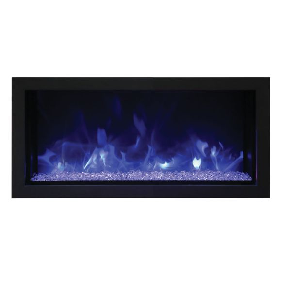 Amantii Remii Extra Slim Indoor/Outdoor Built-In Electric Fireplace image number 0