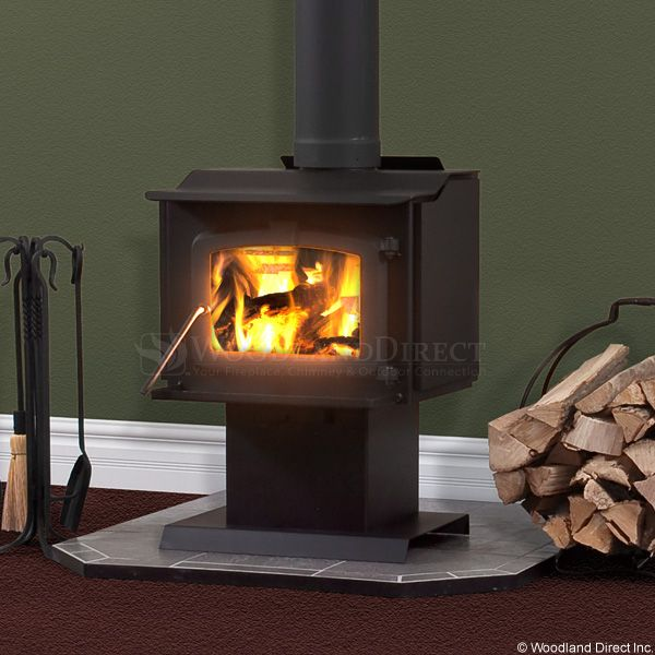 Residential Retreat 1200 High Efficiency Wood Stove & Blower image number 1