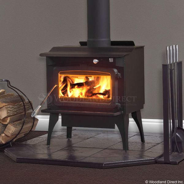 Residential Retreat 2200 High Efficiency Wood Stove & Blower image number 1