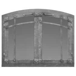 Rustica Arched Masonry Fireplace Doors