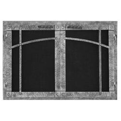 Rustica Rectangular Masonry Fireplace Doors