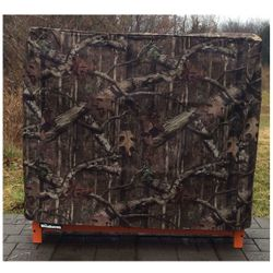 Woodhaven Camo Firewood Rack Full Cover - 4'