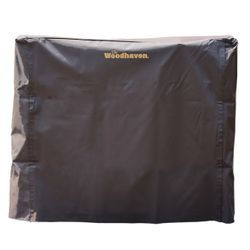Woodhaven 5' Firewood Rack Cover - Brown