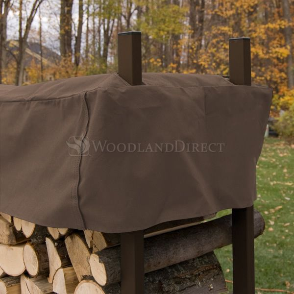 Woodhaven Brown Firewood Rack - 3' image number 3