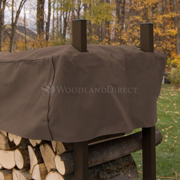 Woodhaven Brown Firewood Rack - 4' image number 3