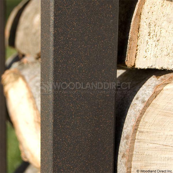 Woodhaven Brown Firewood Rack - 4' image number 5