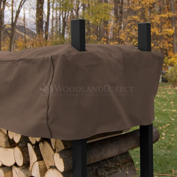 Woodhaven 5' Firewood Rack - Brown image number 3