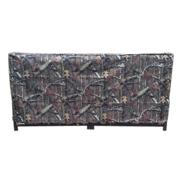 Woodhaven Camo Fire Wood Rack Full Cover - 5' image number 0