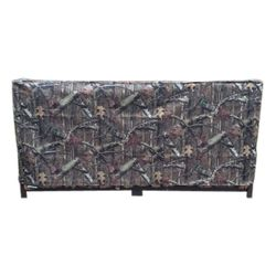 Woodhaven 8' Firewood Rack Cover - Camo