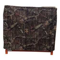 Woodhaven 2' Firewood Rack Cover - Camo