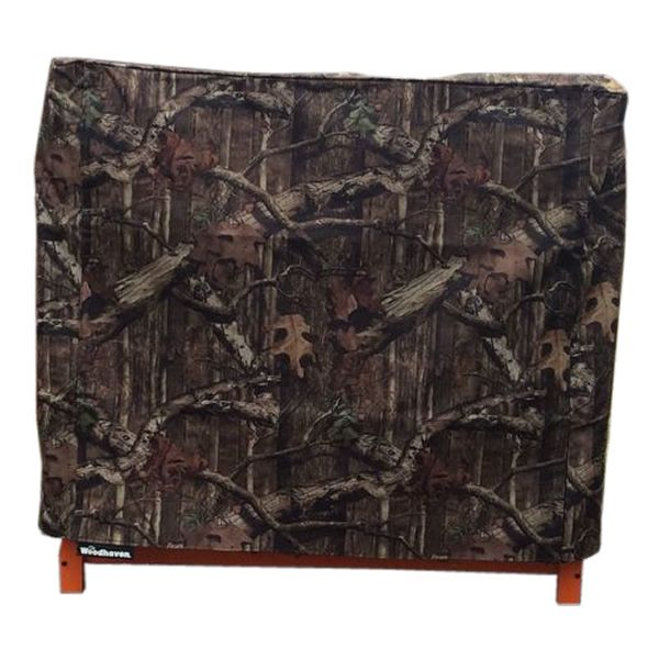 Woodhaven Camo Fire Wood Rack Full Cover - 3' image number 0