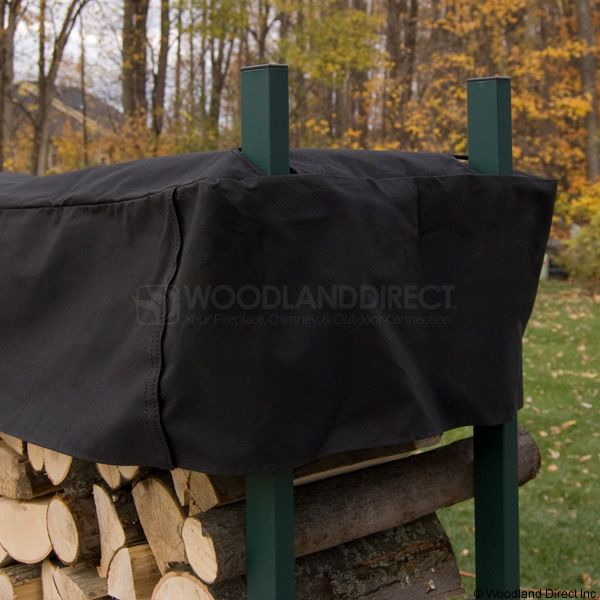 Woodhaven Green Firewood Rack - 4' image number 3