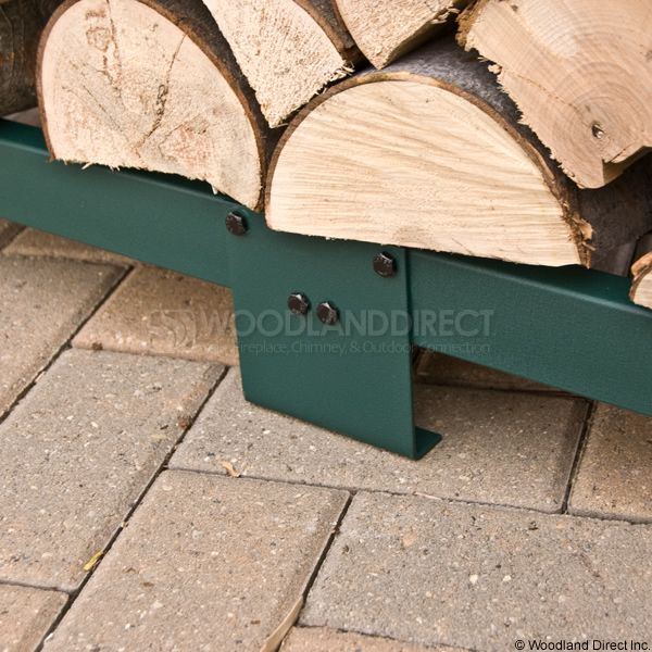 Woodhaven Green Firewood Rack - 8' image number 5