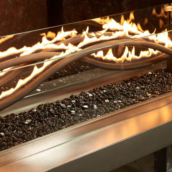 Wave Gas Fire Pit Table image number 1
