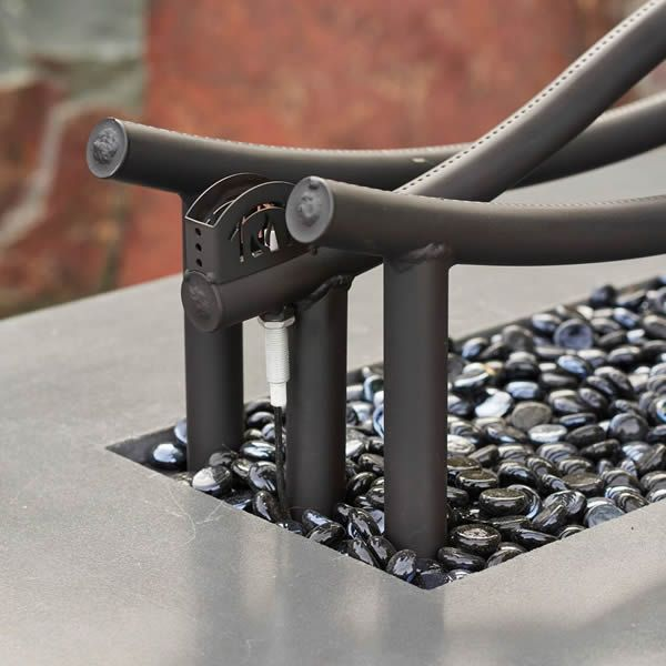 Wave Gas Fire Pit Table image number 3