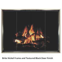 Wayland Cascade Zero Clearance Fireplace Door