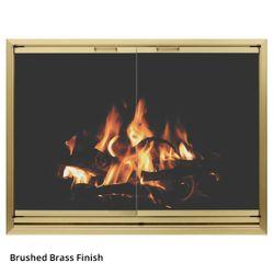 Wayland Hillsborough Masonry Fireplace Door