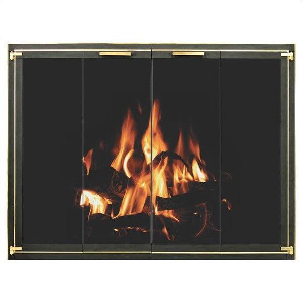 Wayland Overbrook Standard Masonry Fireplace Door image number 0