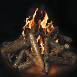 Warming Trends Steel Fire Pit Logs