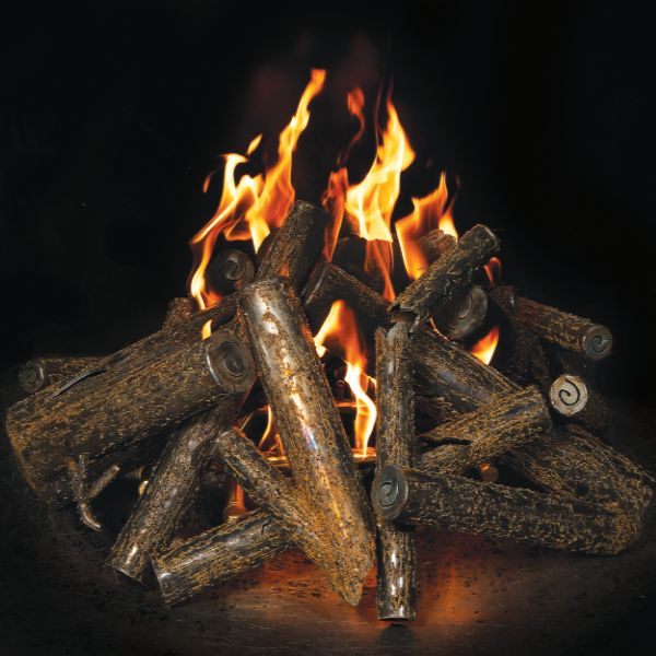 Warming Trends Steel Fire Pit Logs image number 0