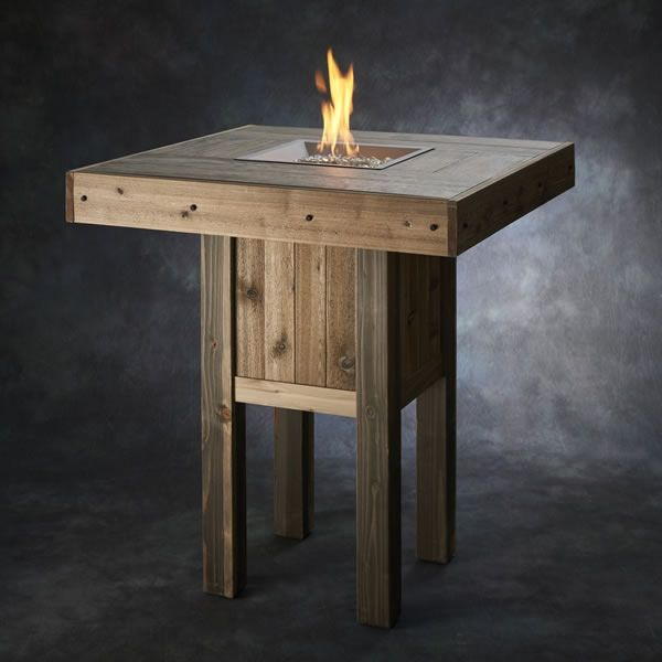 Westport Pub Gas Fire Pit Table image number 0